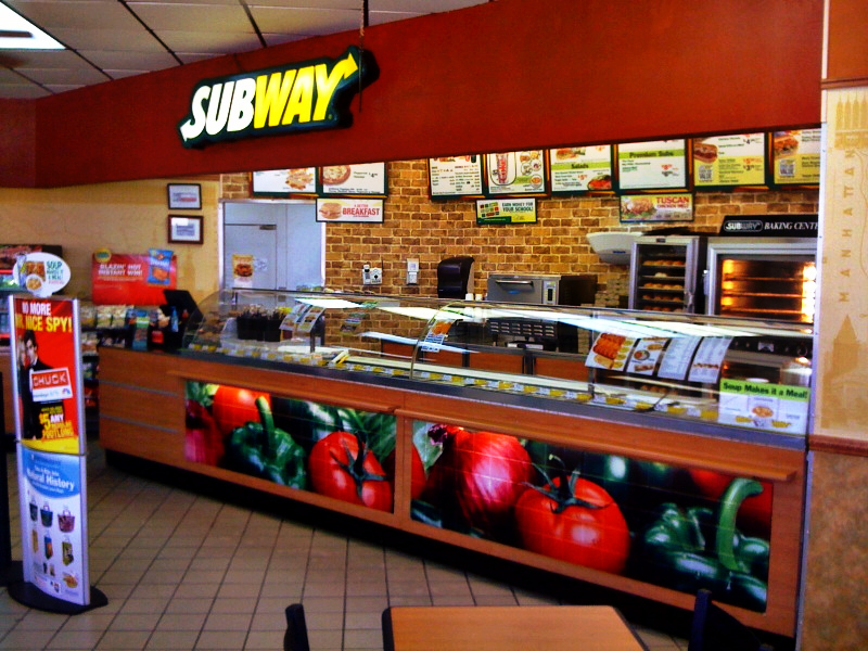 Subway in turmoil as franchisees revolt and 909 stores close | Maps ...