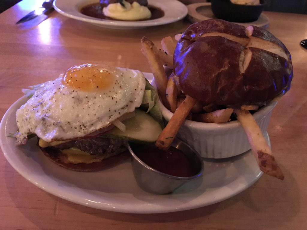 Firefly Grill All American Burger