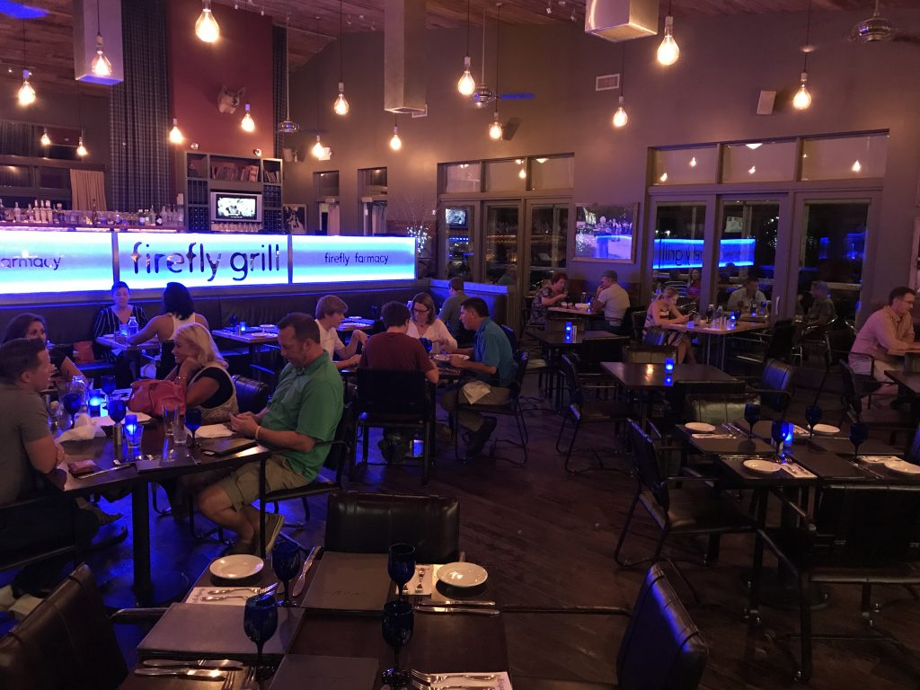 Firefly Grill dining room