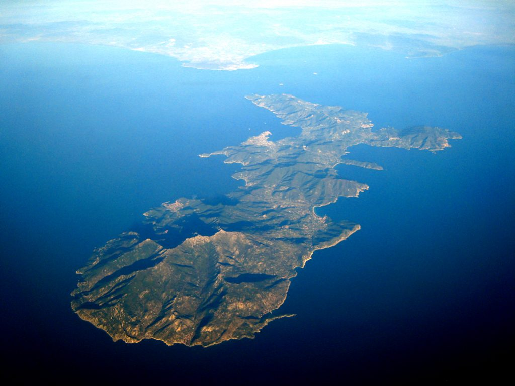 Aerial View of Elba