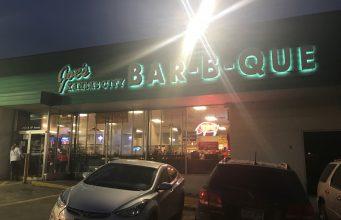 The famous Joe's Kansas City Barbecue